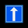 Verkeersbord RVV C2 - BELGIË