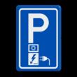 Parkeerbord RVV E08o - oplaadpunt - EV-Box - BE04a