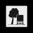 Verkeersbord RVV OB17l - Overhangende takken