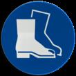 Gebodsbord M008 - Veiligheidsschoenen verplicht