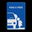 Informatiebord kiss & ride FC eigen ontwerp - L52b