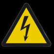 Waarschuwingsbord W012 - Gevaar voor elektrische spanning