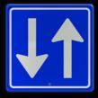 Verkeersbord RVV C05 - Inrijden toegestaan