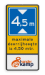 Informatiebord L01 + tekst en logo