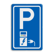Parkeerbord RVV E08o - oplaadpunt - Greenflux - BE04a