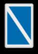 Scheepvaartbord BPR E.11.1 - Einde van een verbod of een gebod