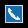 Scheepvaartbord BPR E.14 - Telefoon