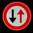 Verkeersteken RVV F05 - klasse 3