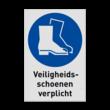 Pictogram M008 - Veiligheidsschoenen verplicht