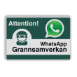 WhatsApp - Sweden - Attention! Grannsamverkan - L209wa