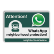 WhatsApp Attention! neighborhood protection - L209wa-g
