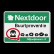 Nextdoor Buurtpreventie verkeersbord 01