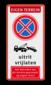 Eigen terrein + RVV E02 + 2x pictogram + tekst
