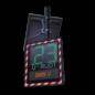 Snelheidsdisplay I-SAFE TS2 - LED met datacollectie en extra tekstdisplay