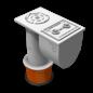 PipeLock Grondkoker 300mm Ø 51 mm + sleutel