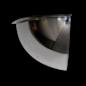 Kogelspiegel 800mm - kijkhoek 90°