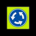 Verkeersteken + kader
