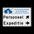Entree - routebord - rechts + logo