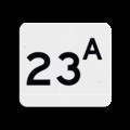 Huisnummerbord NEN1772