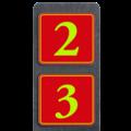 Huisnummerbord Klassiek