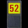 Huisnummerbord Modern