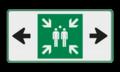 Verkeersteken + pijlen