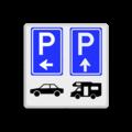 4 verkeerstekens / pictogrammen