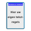 Koptekst + 19 tekstregels