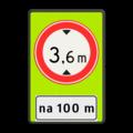 Verkeersteken + Pictogram