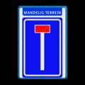 Koptekst + Verkeersteken + tekstregel