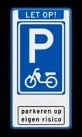 Aanhef + Parkeerbord + pictogram