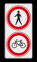 2x Verkeersteken