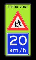 Koptekst - 2x Verkeersteken