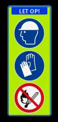 Koptekst - 3 verkeerstekens