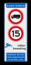 Koptekst + 2x Verkeersteken + Pictogram + Ondertekst