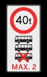 Tekstbord et-C21 picto bussen + txt