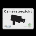 Verkeersbord cameratoezicht in huisstijl - BP03a