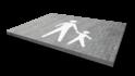 Markering symbool wegenverf