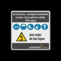 Veiligheidsbord 1:1 PBM met klant specifiek ontwerp