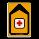 Tekstbord - T201b-logo - Werk in uitvoering