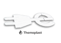 Markering - thermoplast - Logo E-stekker