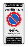 Product Eigen terrein + naam + RVV E01 + picto + verboden toegang Eigen terrein + naam + RVV E01  + picto + verboden toegang Eigen terrein, naam, RVV E01, picto,  verboden toegang