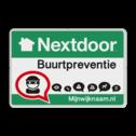 Nextdoor Buurtpreventie verkeersbord 01 Whats App, WhatsApp, watsapp, preventie, attentie, velserbroek, buurt
