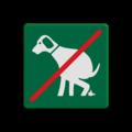 Hier je hond NIET uitlaten