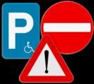 Officiële verkeersborden