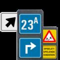Informatie- en routepaaltjes