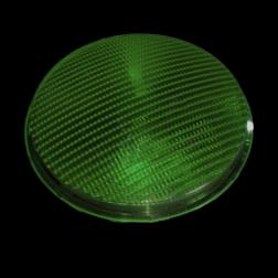 Lens polycarbonaat verkeerslicht (VKL) groen stolicht