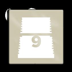 Niveaubord 118x118cm perlbeige | white nlarchitect, etagebord