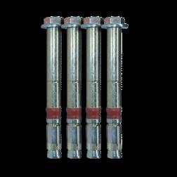 Keilbout M10-14/50-125 (set van 4 stuks)