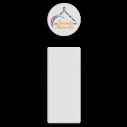 Informatiebord Austerliz logo Piramide van Austerlitz